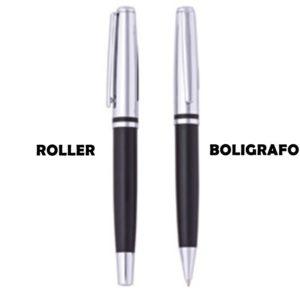 SET DE BOLIGRAFO Y ROLLER BALL EN ESTUCHE [BP206]